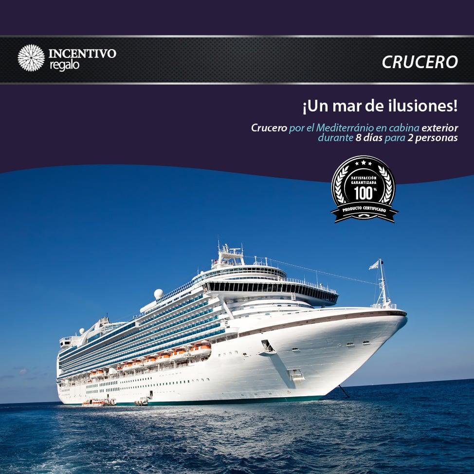 Crucero Mediterráneo - Camarote Exterior 1