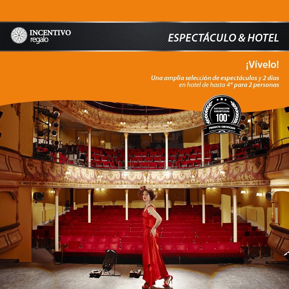 Espectáculo y Hotel Premium 1