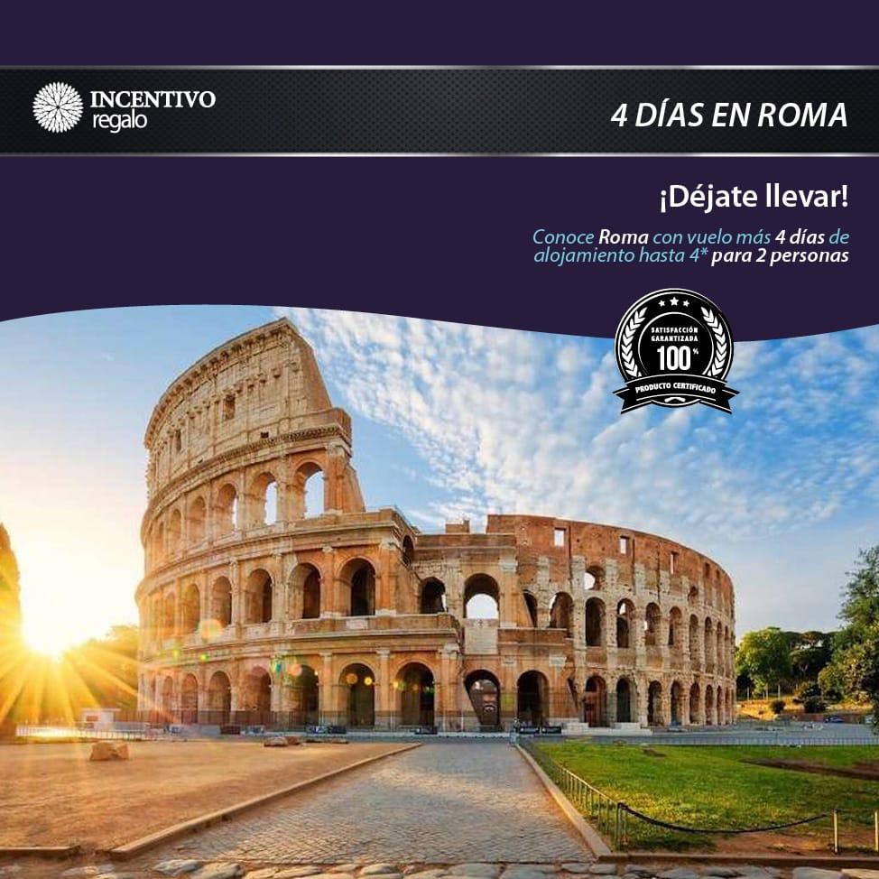 4 días en Roma 1